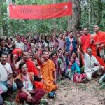 Prey Preah Roka Forest trees ordained